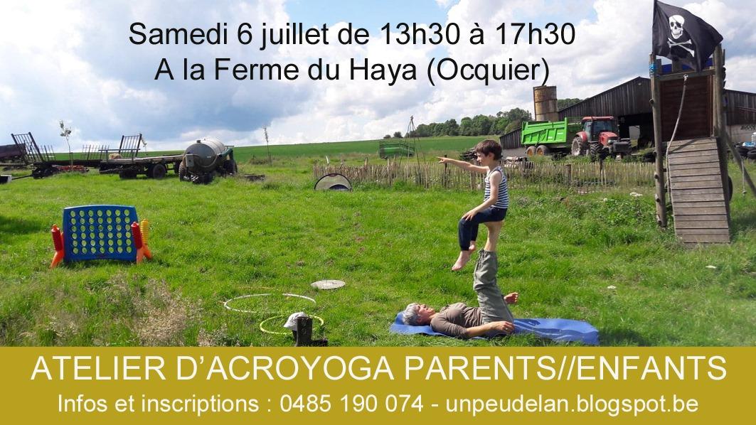 Atelier Acroyoga Parents//Enfants