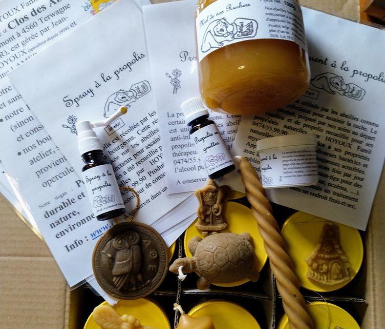 Du miel lors des colis du 4 décembre