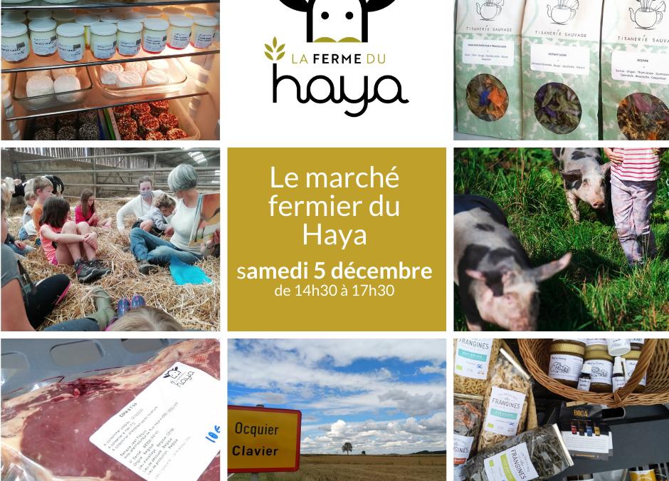 Marche fermier du Haya le 5 décembre