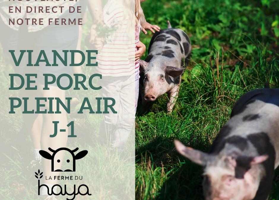 J-1 : viande de porc au détail