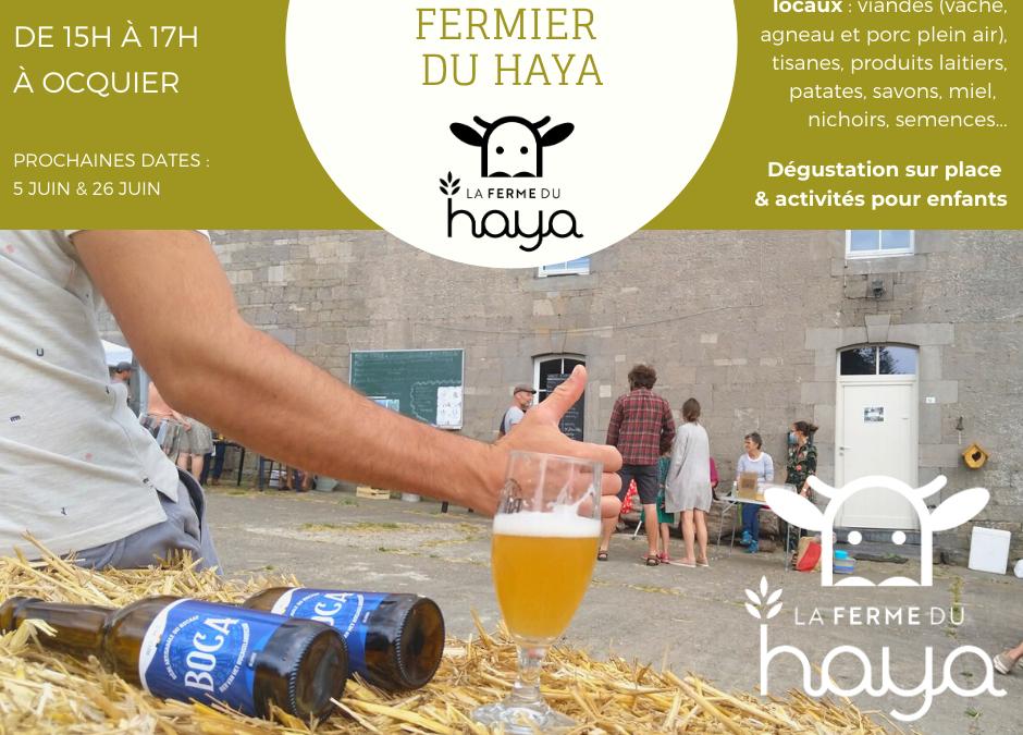 Le marché fermier du 15 mai – avec espace dégustation et activités pour enfants