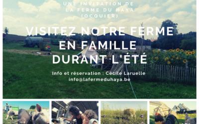 Visitez notre ferme en famille cet été !